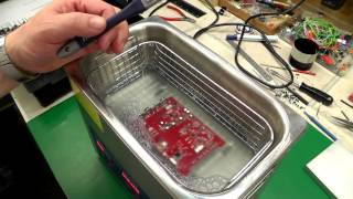 Video Blog #026 - Ultrasonic Cleaner PCB Flux Removal