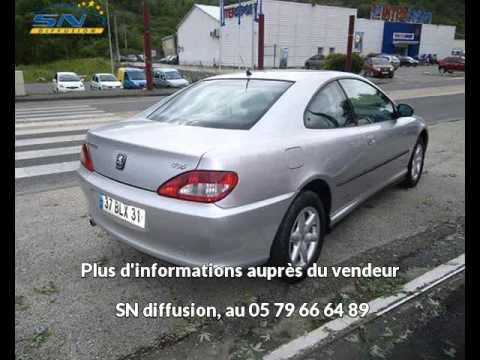 Annonce De Peugeot 406 Coupe Occasion Du Mandataire Auto Sn Diffusion