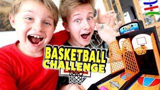 Bro vs. Bro - Basketball CHALLENGE + BESTRAFUNG 😁 TipTapTube Family 👨👩👦👦