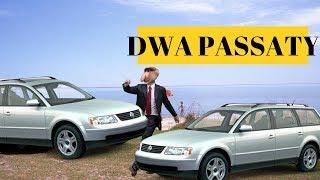 Janusz - DWA PASSATY (Łobuzy - Oczy jak pińć złoty PARODIA) | Atsydorap