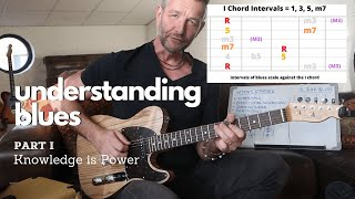 Understanding Blues Guitar - Part I of IV  Knowledge Is Power!  Communicate - Not Copy.