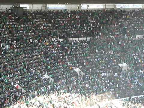 ola mexicana estadio azteca