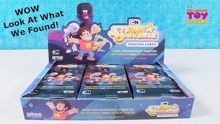 Steven Universe Cartoon Network CN Trading Cards Full Box Opening Review | PSToyReviews