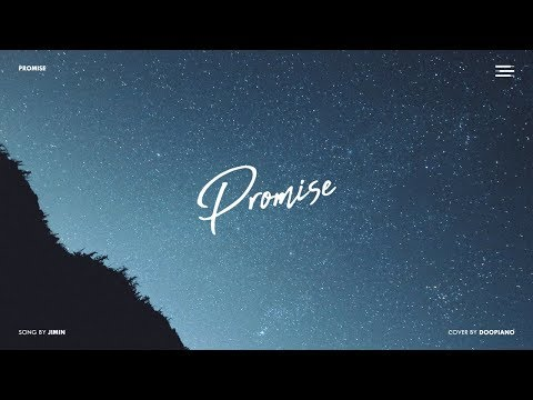 BTS JIMIN (지민) - 약속 (Promise) Piano Cover