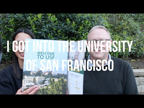 COLLEGE ADMISSIONS PROCESS | Vlog #20: University of San Francisco Acceptance + Scholarship Reaction