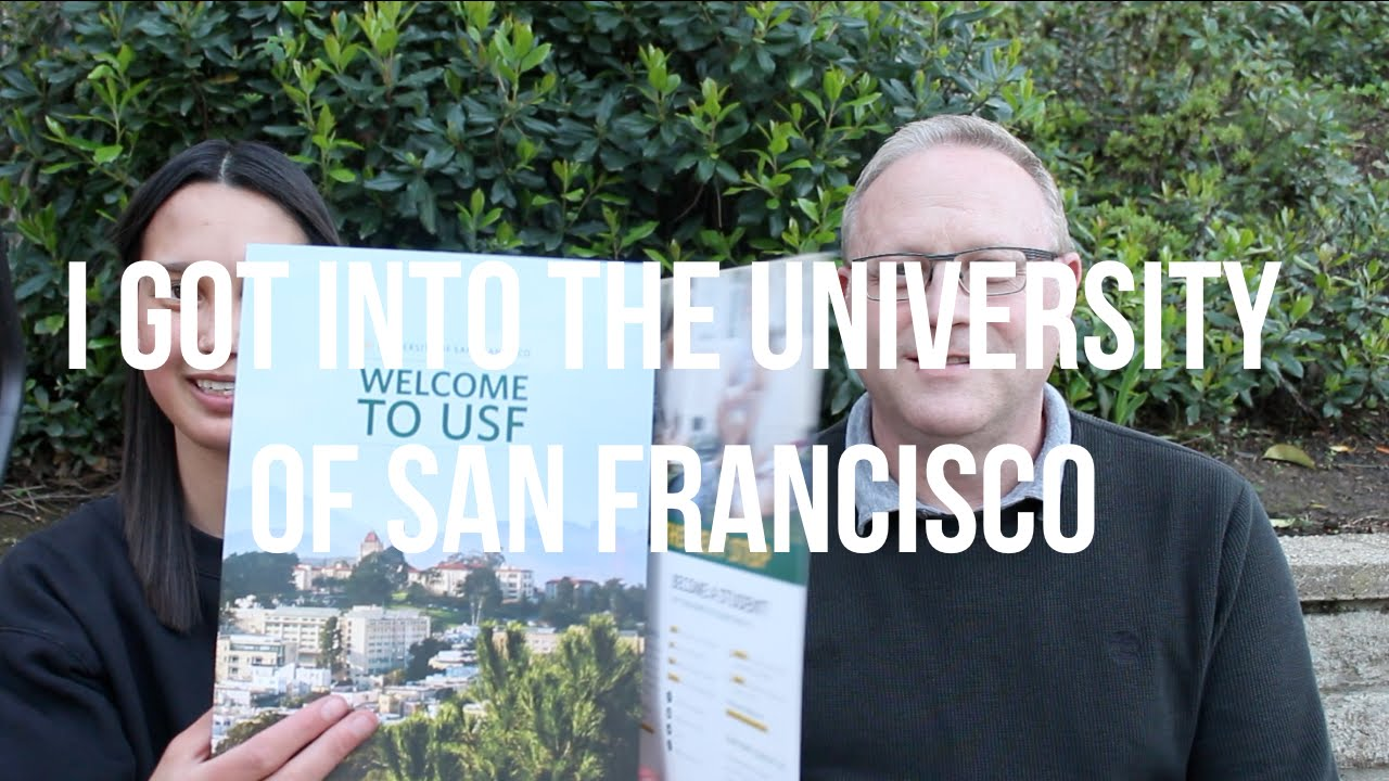 college admissions process vlog university of san francisco college admissions process vlog 20 university of san francisco acceptance scholarship reaction