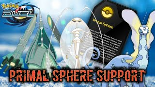 How to use Primal Sphere Pokemon Duel