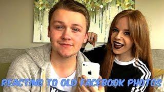 Reacting To Old Facebook Photos | Kyle & Clare
