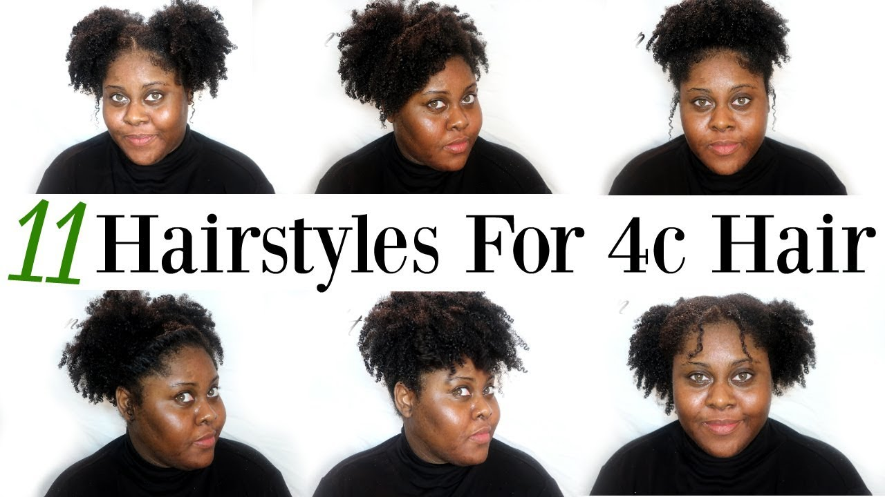 11 Hairstyles For Short 4b Hair No Braids Youtube
