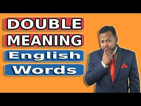 Double Meaning English Words | Spoken English Class | English Speaking Practice thumbnail