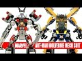 Avengers Ant-Man & X-Men Wolverine Mechanical Exo-Suit Unofficial LEGO KnockOff Set