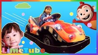 도전 레이싱 자동차를 타 보았다! | 제주도 코코몽 테마파크 어린이 놀이터에 가다! 1편 LimeTube & Toy 라임튜브