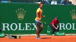 2016 Monte-Carlo Rolex Masters: Quarter-Final Highlights ft. Murray, Nadal & Federer