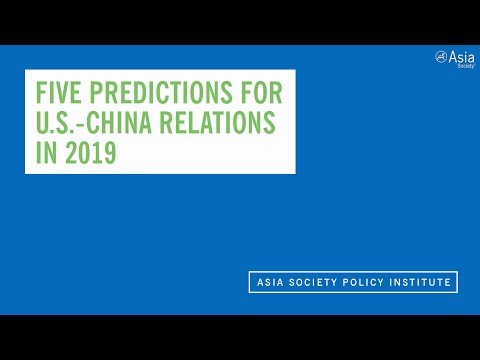 Kevin Rudd: 5 Things To Watch in U.S.-China Relations in 2019