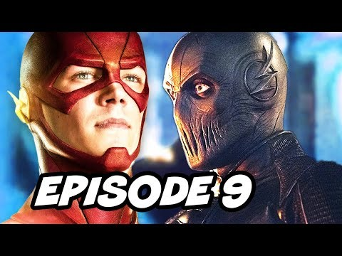 The Flash Season 2 Episode 9 Mid Finale - TOP 10 WTF and Easter Eggs