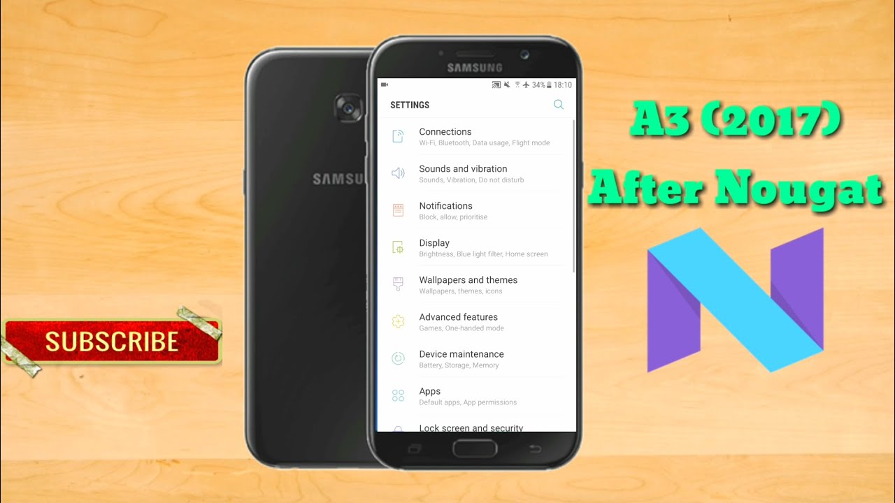 Samsung Galaxy A3 2017 After Nougat Update Review