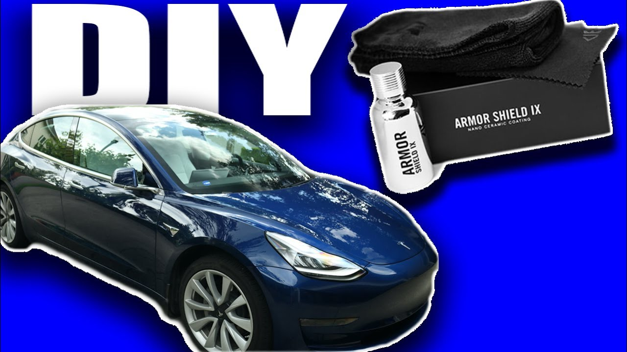 DIY Nano Ceramic Coating on a Tesla Model 3 | Worth it??? | Step by step guide
