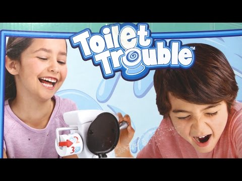 Toilet Trouble Game [Instructions & Review] | Hasbro Toys & Games
