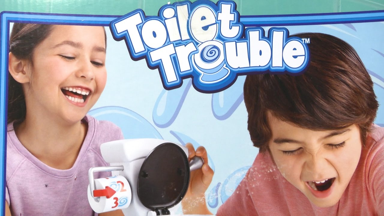 Toilet Pret Spel : Toilet trouble game [instructions & review] hasbro toys & games