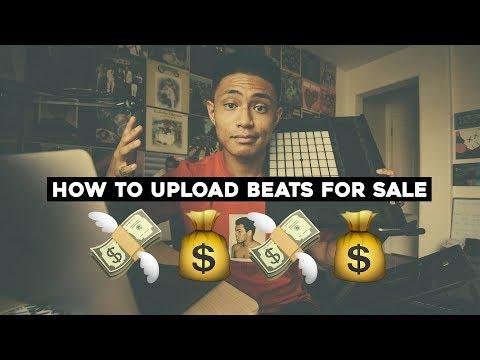 How I upload BEATS online and MAKE MONEY