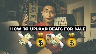How I upload BEATS online and MAKE MONEY