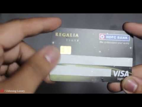 For this card, the hdfc credit card add on card is free for a lifetime. Hdfc Bank Regalia First Luxury Credit Card Unboxing And Quick Review Youtube