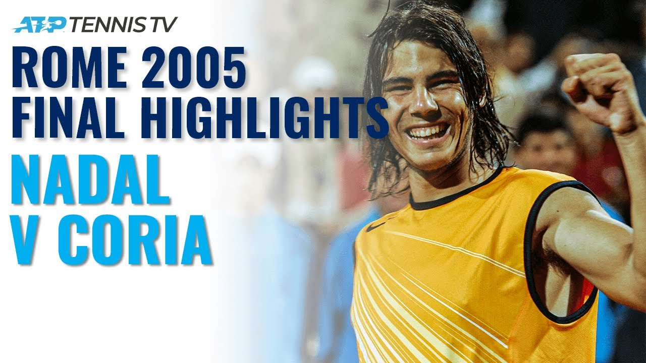Rafa Nadal v Guillermo Coria: Rome 2005 Final Classic Highlights