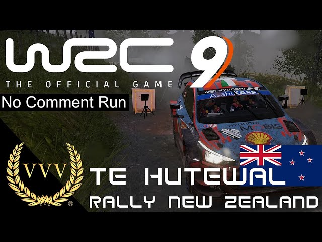 WRC 9 - New Zealand - Te Hutewal - No Comment Run