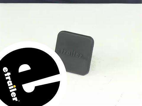 Demo etrailer Hitch Covers 22282 - etrailer
