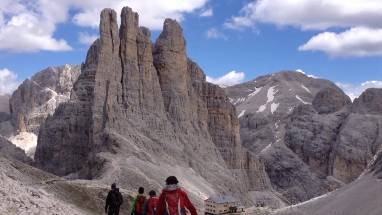 Klettersteig Rosengarten : Klettertour für einsteiger im rosengarten youtube