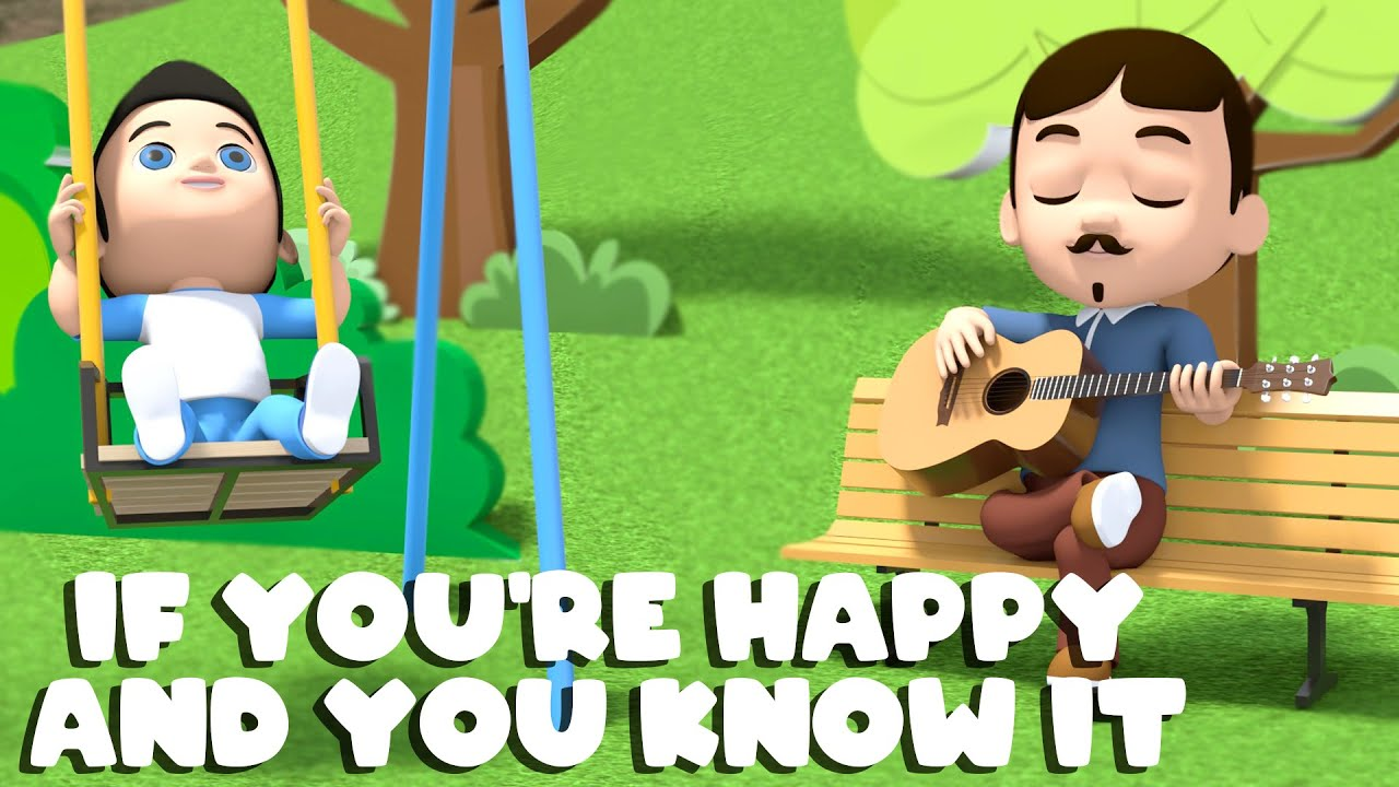 If You're Happy And You Know It | Nursery Rhymes & Kids Song