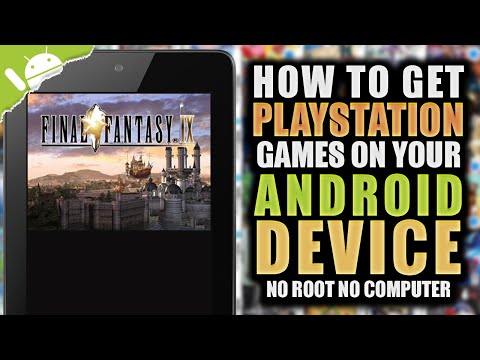 FPse: How To Get PSX Games On Your Android Device! (NO COMPUTER) (NO ROOT)