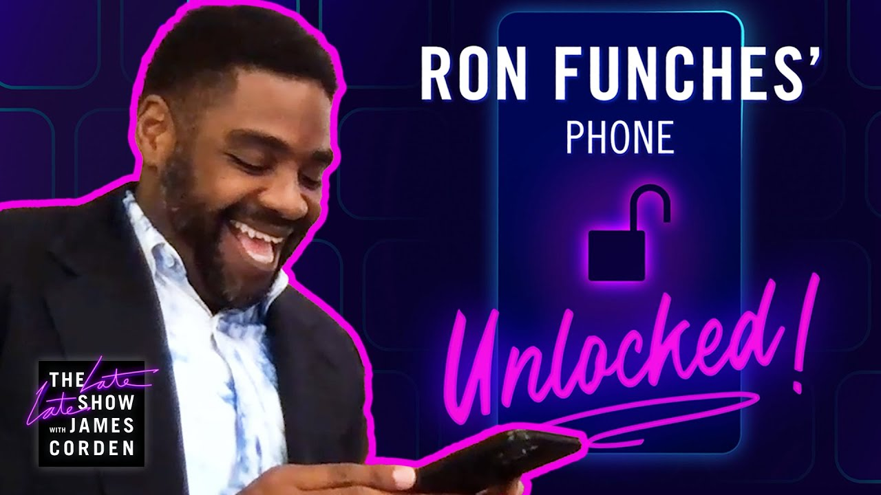 Ron Funches' Phone Unlocked