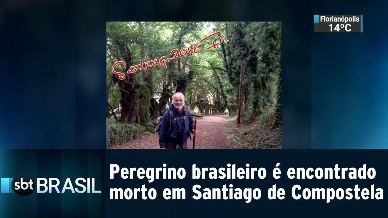 Peregrino brasileiro é encontrado morto em Santiago de Compostela | SBT Brasil (07/08/18)