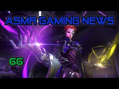 ASMR Gaming News (66) Overwatch Moira, Blizzcon, Nintendo Switch, Xenoblade 2, Xbox, PS4 + More!