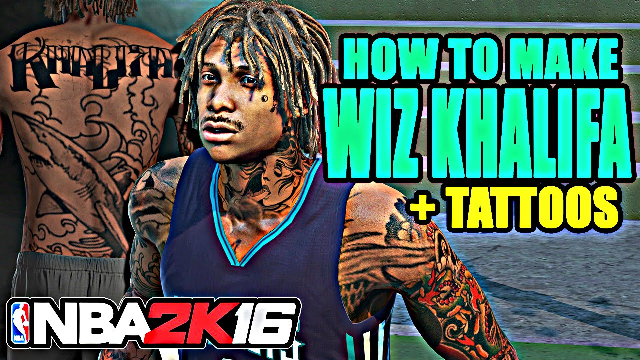Pictures of wiz khalifa pictures of celebrities - How To Create Wiz Khalifa In Nba 2k16 Youtube