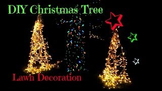 Diy Christmas Tree Yard Decoration