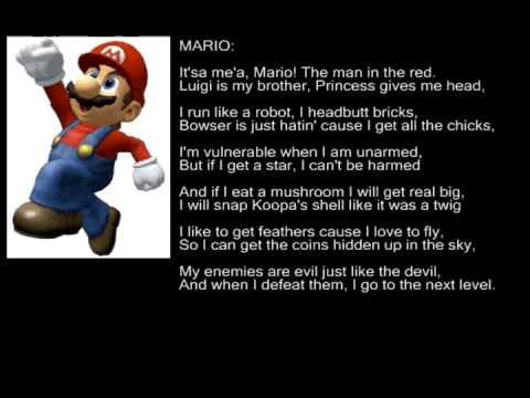 Super Mario Bros Rap