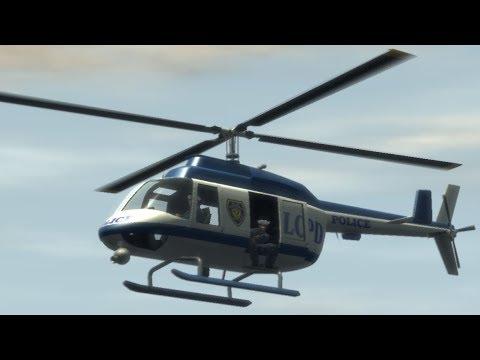 GTA IV - How To Get The Police Maverick