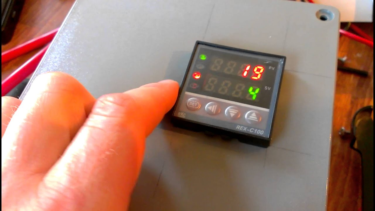 DIY PID Temperature Controller   #BA4111