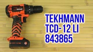 Розпакування Tekhmann TCD-12 Li 843865