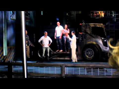 POV of Fast and Furious - Supercharged at Universal Studios Hollywood