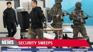 PyeongChang Counter-Terrorism & Safety Center holds security sweep