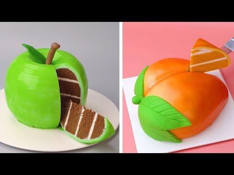 Top Fondant Fruit Cake Compilation   Easy Cake Decorating Ideas   So Tasty Cakes Recipes #3