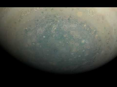 Rotation movie of Jupiter's south polar region