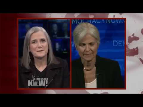 Part 1: Expanding the Debate / Jill Stein Debates Clinton and  Trump in Democracy Now! Special!