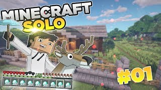 MINECRAFT SOLO #01 | HusBox | NOWY DOM! | Sezon 2019