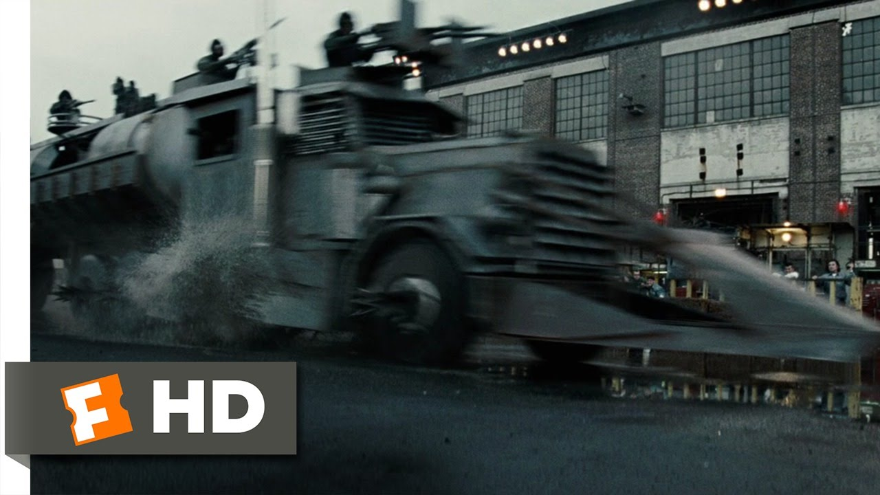 Death Race Movie Clip The Dreadnought Hd Youtube