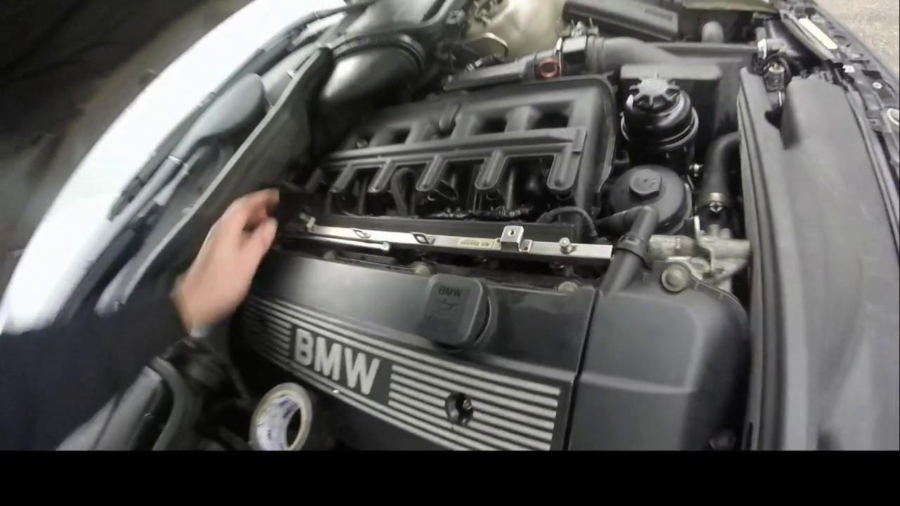 Bmw E39 E46 X5 Starter Motor Diy Replacement Vik Sfix
