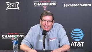 텍사스 테크 농구 기자 회견-마크 아담스